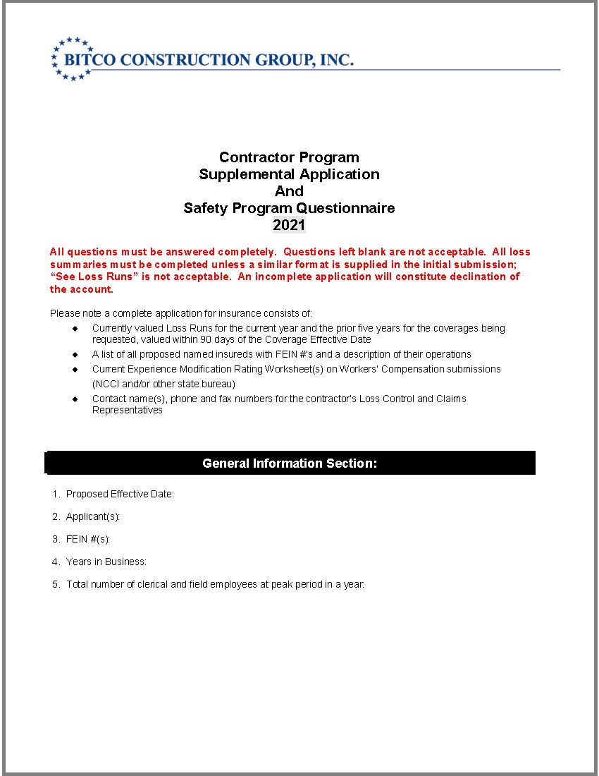 contractors-supplemental-app-and-questionnaire