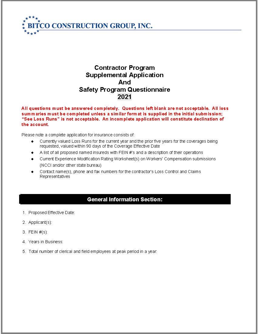 contractors-supplemental-app-and-questionnaire
