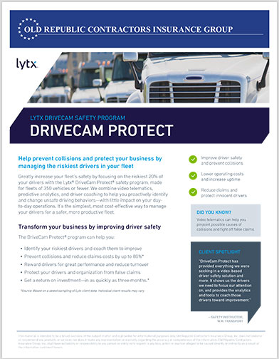 Lytx-DriveCam-Protect-Flyer